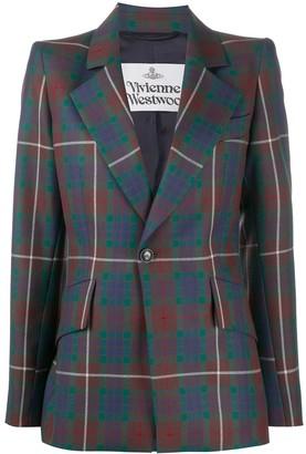 Vivienne Westwood Tartan Check Blazer