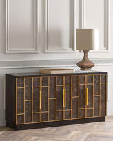 Hooker Furniture Neil Leather Door Credenza