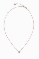 Monica Vinader Nura Diamond Mini Nugget Necklace
