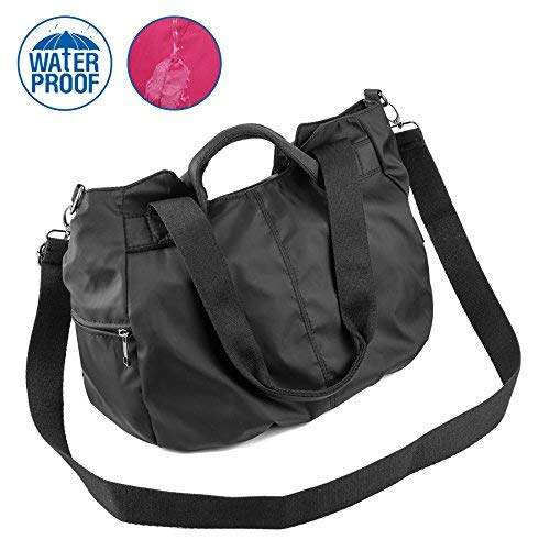 a430911fc5ef ZOOEASS Women Fashion Tote Shoulder Handbag Waterproof Multi-function Nylon  Travel Crossbody Bags