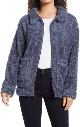 Andrew Marc Ultra Soft Faux Fur Jacket