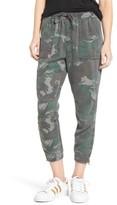 Pam & Gela Women's Camo Jogger Pants