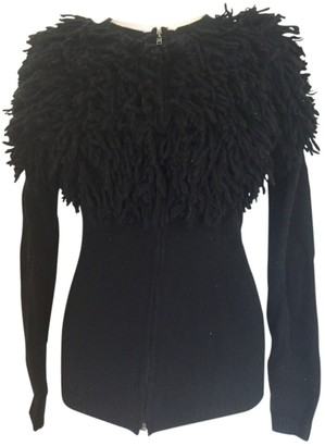 Topshop Tophop Black Wool Knitwear for Women
