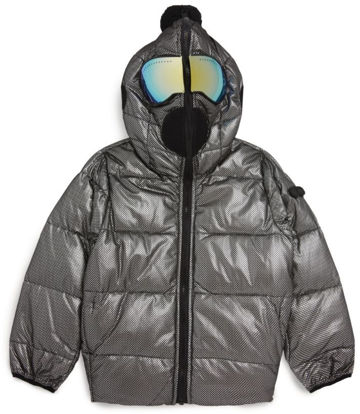 AI Riders on the Storm Young Hooded Lens Jacket