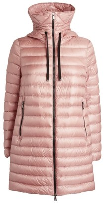 Moncler Rubis Longline Quilted Jacket