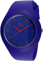 JCPenney TKO ORLOGI Candy II Blue Silicone Strap Sport Watch