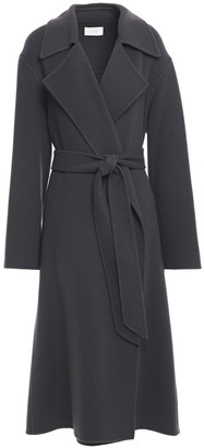 The Row Belted Cashmere And Wool-blend Felt Coat