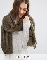 Stitch & Pieces Soft Knit Long Line Scarf