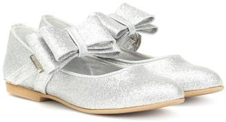 MonnaLisa Glitter ballet flats