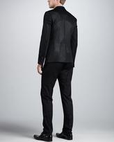 DSquared DSquared2 Two-Button Mesh Jacket, Black