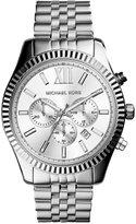 Michael Kors Men's Chronograph Lexington Stainless Steel Bracelet Watch 45mm MK8405