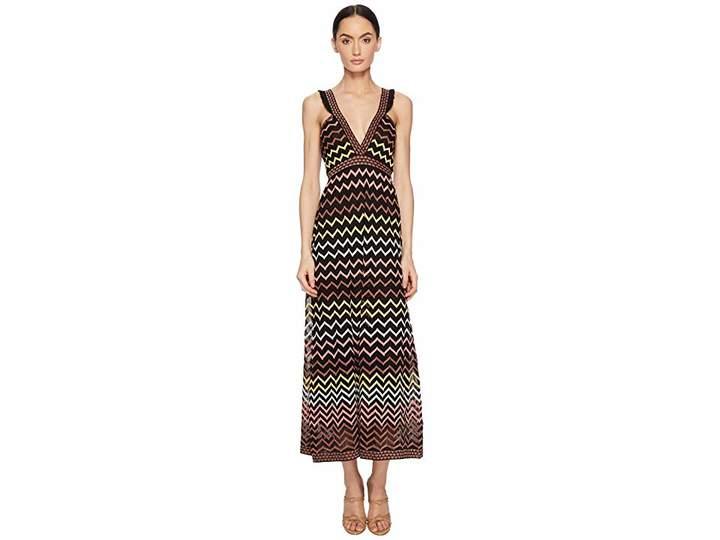 M Missoni Lurex Zigzag Maxi Women's Dress