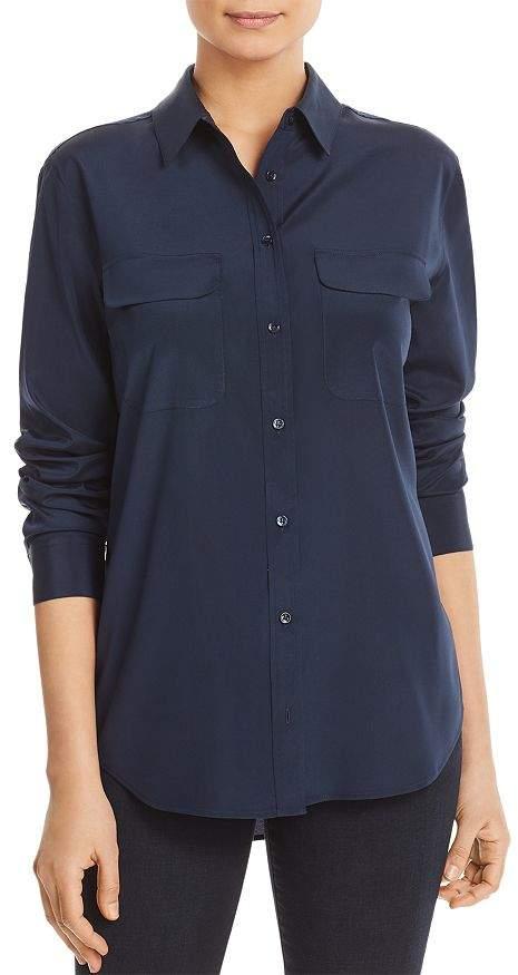 ddbea4875f Silk Front Pocket Shirt - ShopStyle