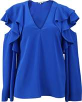DOROTHEE SCHUMACHER Fabulous Flow Cold Shoulder Top
