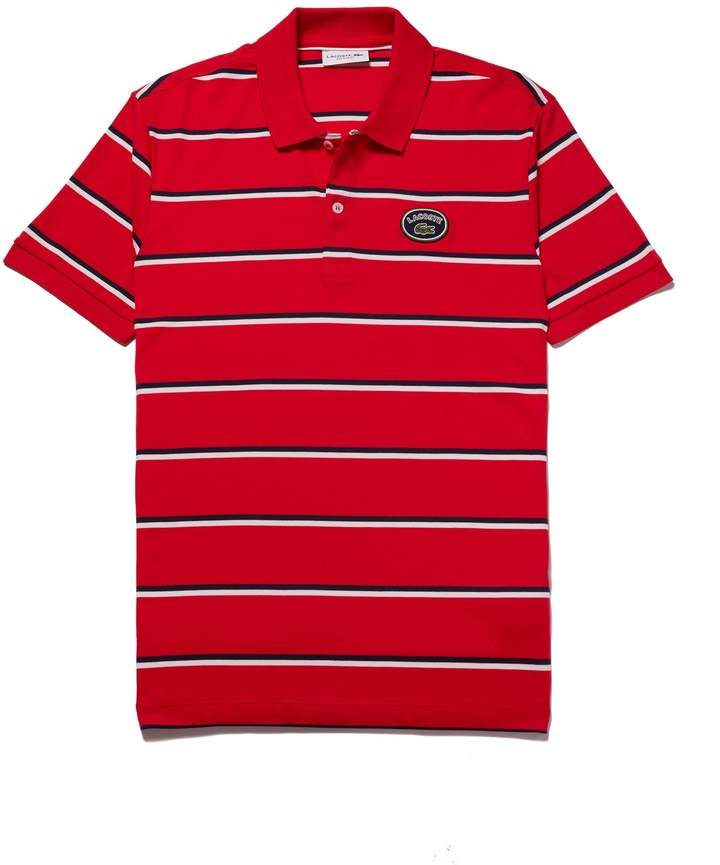 Regular Men's Cotton Interlock Striped Fit Polo SMVqzUp