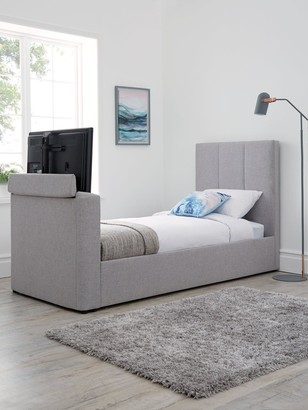 Parker Fabric Manual TV Bed - fits up to 32 inch TV