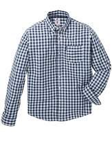 Lambretta Gingham Check LS Shirt Long