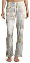 Zimmerli Blaze of Blossom Lounge Pants, Blue Pattern