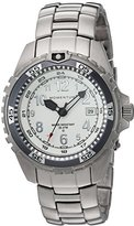 Momentum 'M1 Twist' Quartz Stainless Steel Diving Watch, Color:Grey (Model: 1M-DV11WG0)