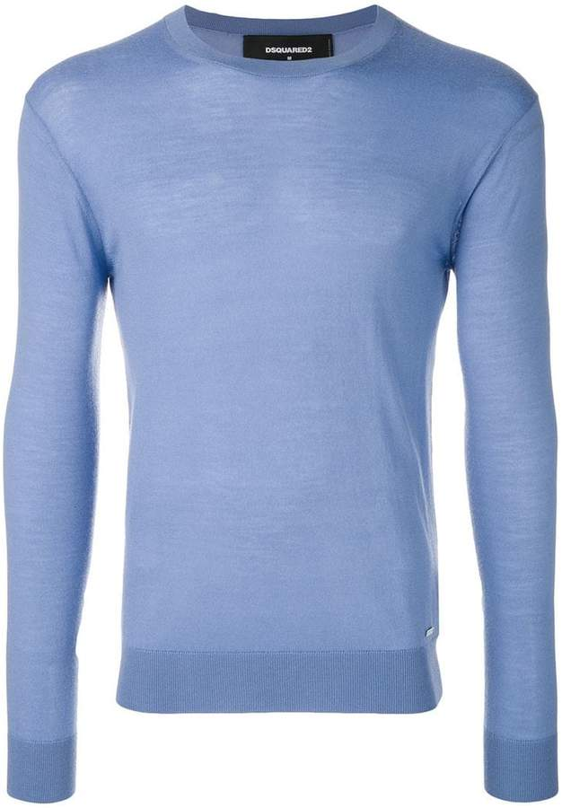 DSQUARED2 classic cashmere jumper