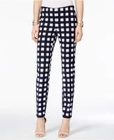 Alfani PRIMA Printed Straight-Leg Pants, Created for Macy's