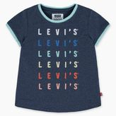 Levi's Little Girls (4-6x) Way Back Ringer Tee