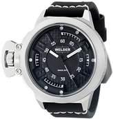 Welder Men's Quartz Watch 3608 K24 3608 with Leather Strap