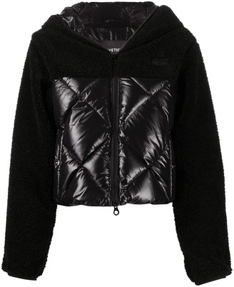 Duvetica Fleece Padded Puffer Jacket