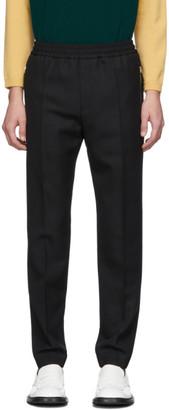 Stella McCartney Black Wool Piet Trousers