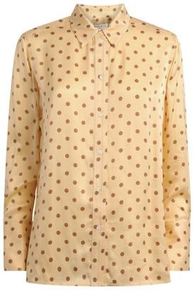 Sandro Paris Polka-Dot Print Shirt