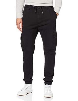 S'Oliver Q/S designed by Men's 40.909.73.2116 Trousers, (Black 9999), (Size : XL)