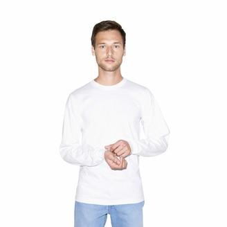 American Apparel Unisex Organic Fine Jersey Crewneck Long Sleeve T-Shirt
