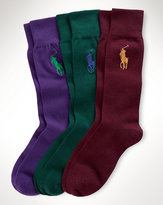 Ralph Lauren Big Pony Sock 3-pack Set