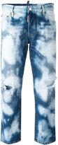 DSQUARED2 Tomboy bleached jeans - women - Cotton - 38