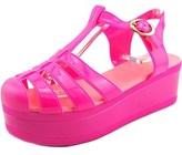 Wanted Jellypop Women Open Toe Synthetic Purple Platform Sandal.