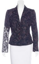Christian Lacroix Embroidered Fitted Blazer