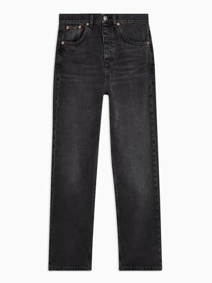 Topshop Editor Jeans - Worn Black