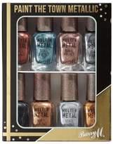 Barry M Molton Metals (Paint The Town Chrome) Nail Set