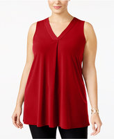 Alfani Plus Size V-Neck Tunic, Created for Macy's