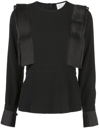 Alexis Pleated Detail Top