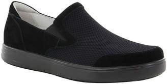 Alegria Men's Sandals BLACK - Black Suede Bender Slip-On Sneaker - Men