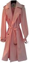Burberry Pink Polyester Coat