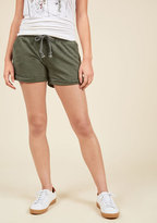 ModCloth Downtime for Whatever Lounge Shorts in S