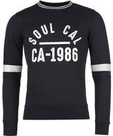 Soulcal Crew Sweater Mens
