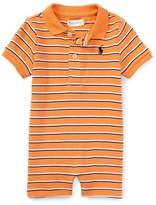 Ralph Lauren Boys Striped Cotton Polo Shortall