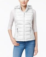 32 Degrees Packable Down Hooded Puffer Vest, Only at Macy's