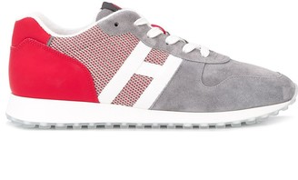 Hogan Logo Low-Top Trainers