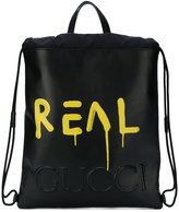 Gucci GucciGhost drawstring backpack