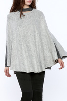 Cherish Grey Poncho Top
