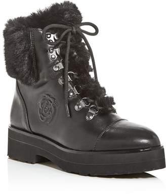 Taryn Rose Women's Veronica Weatherproof Platform Combat Boots